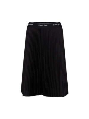 Crna plisirana suknja - Calvin Klein