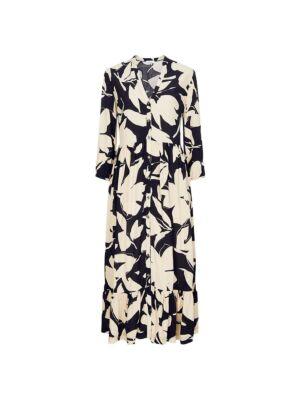 Duga cvetna haljina - Calvin Klein