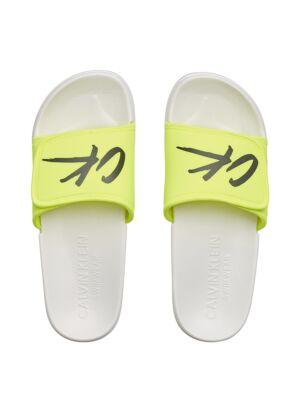 Žute muške CK papuče - Calvin Klein