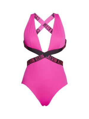 Pink jednodelni kupaći - Calvin Klein