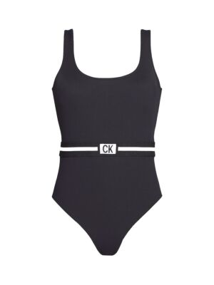 Crni jednodelni kupaći - Calvin Klein