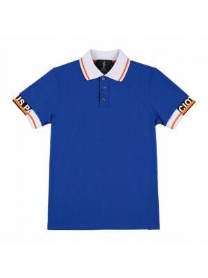 Plava muška polo majica - 4US