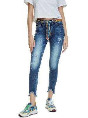 Izbijeljeni ženski džins - Desigual