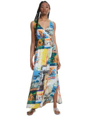 Šarena maxi haljina - Desigual