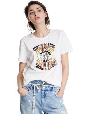 Ženska majica sa perlicama - Desigual