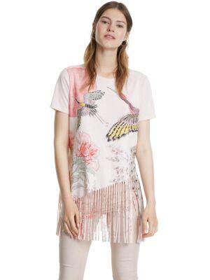 Ženska majica sa resicama - Desigual