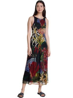 Šarena haljina na bretele - Desigual