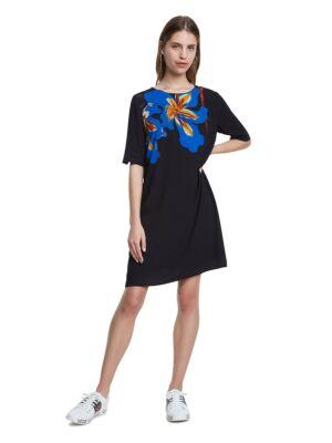 Mini haljina sa plavim cvetom - Desigual
