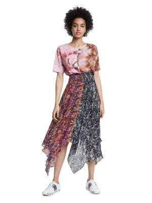 Šarena haljina do članaka - Desigual