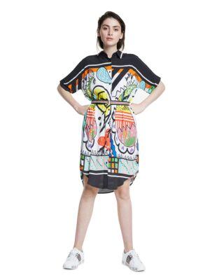 Šarena haljina do kolena - Desigual