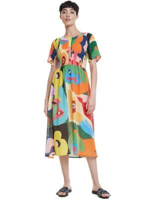 Šarena midi haljina - Desigual
