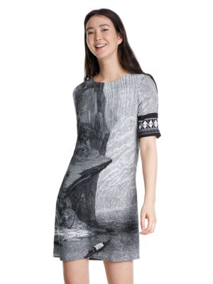 Haljina sa stenom - Desigual
