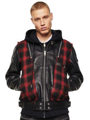 Kožna muška jakna - Diesel