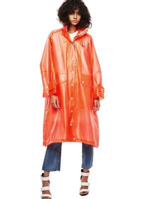 Ženska narandžasta kabanica - Diesel