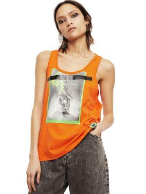 Ženska narandžasta majica - Diesel