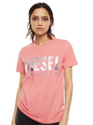 Roze ženska logo majica - Diesel