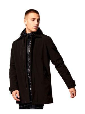 Postavljena dugačka muška jakna - Dstrezzed