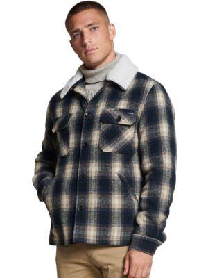 Karirana muška jakna - Dstrezzed