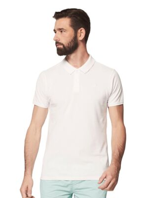 Bela muška polo majica - Dstrezzed