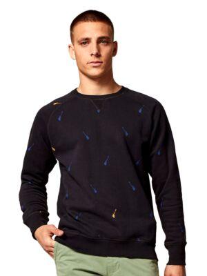 Muški džemper sa printom - Dstrezzed