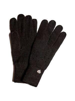 Ženske rukavice sa srcem i šljokicama - Guess
