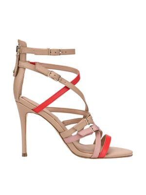 Sandale sa štiklom i kaišićima - Guess