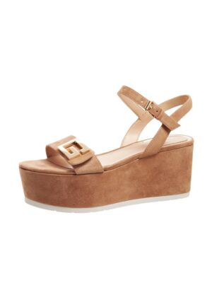 Braon ženske sandale - Guess