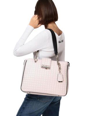 Velika bež ženska torba - Guess
