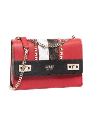 Ženska crvena torba sa printom - Guess