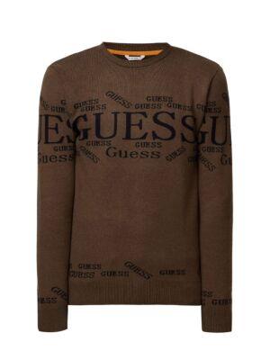 Maslinsti muški džemper - Guess