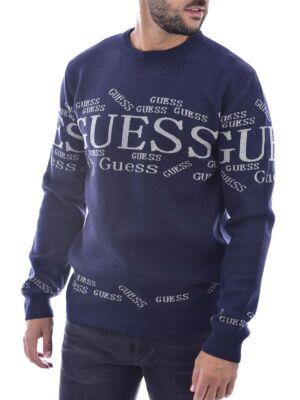 Muški teget džemper - Guess