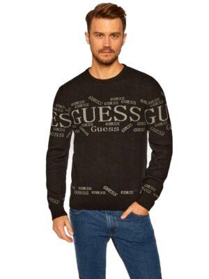 Crni muški džemper - Guess