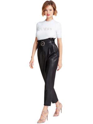 Ženske pantalone od eko kože - Guess