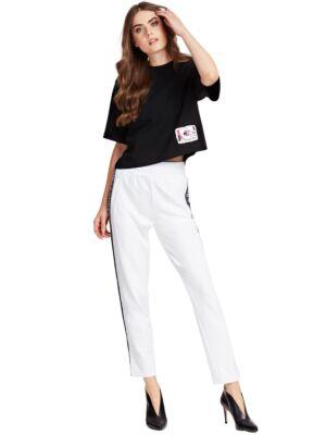 Ženske pantalone sa logo trakom - Guess