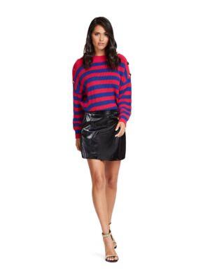 Mini suknja od eko kože - Guess