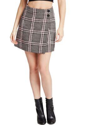 Mini suknja na preklop - Guess