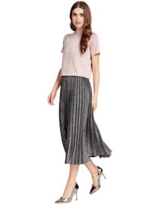 Midi plisirana suknja - Guess