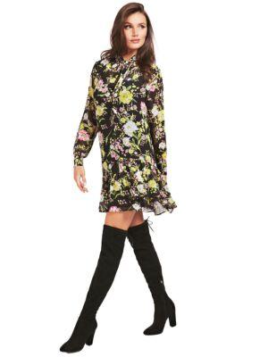 Cvjetna midi haljina - Guess