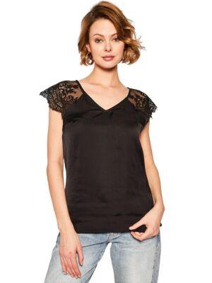 Ženska majica sa čipkom - Guess