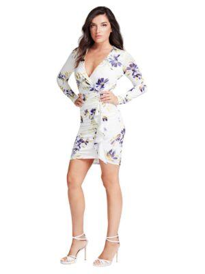 Mini cvetna haljina - Guess
