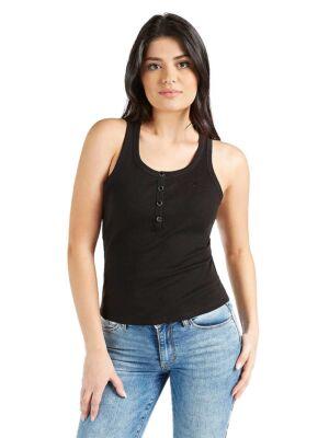 Klasična crna ženska majica - Guess