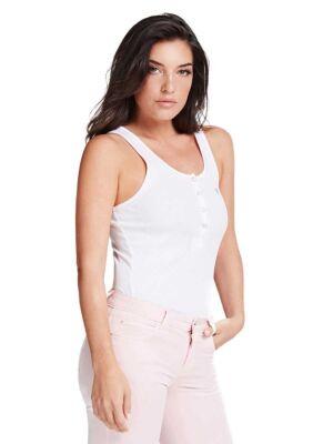 Klasična bela ženska majica - Guess