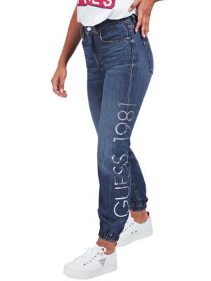 Ženski džins sa logo printom - Guess