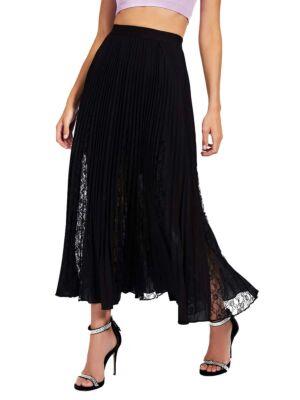 Crna maxi suknja - Guess