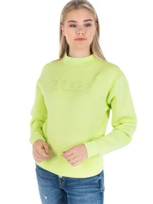 Neon žuti ženski duks - Guess