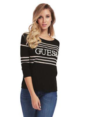 Ženski džemper s crtama- Guess