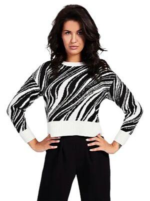 Ženski zebra džemper - Guess