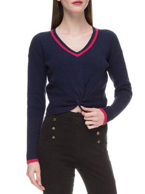 Ženski džemper sa V izrezom - Guess