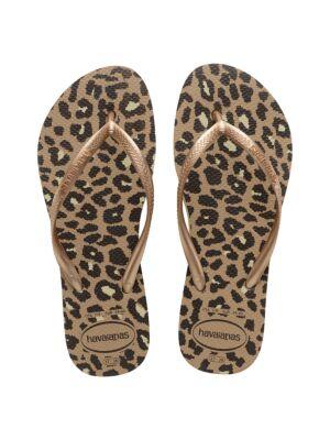 Ženske leopard japanke - Havaianas