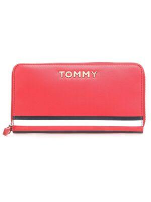 Ženski pravougaoni novčanik sa trobojnom trakom - Tommy Hilfiger